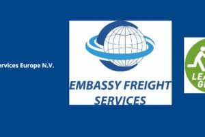 Embassy Freight Services Europe Lean and Green logo small
