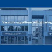 Vacature expediteur met ervaring